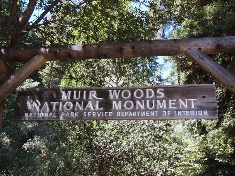 entrada al Monumento Nacional de Muir Woods