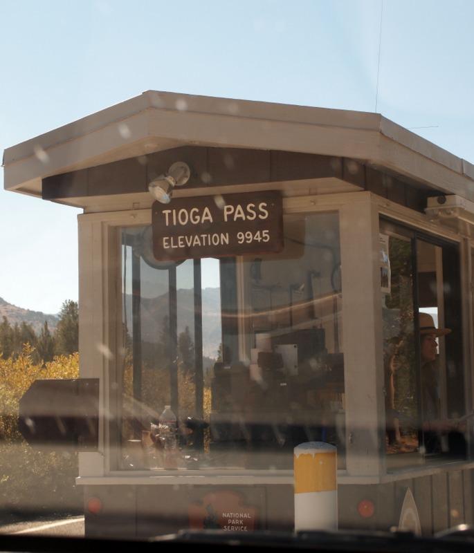 Toga Pass, al inicio del Parque Nacional de Yosemite