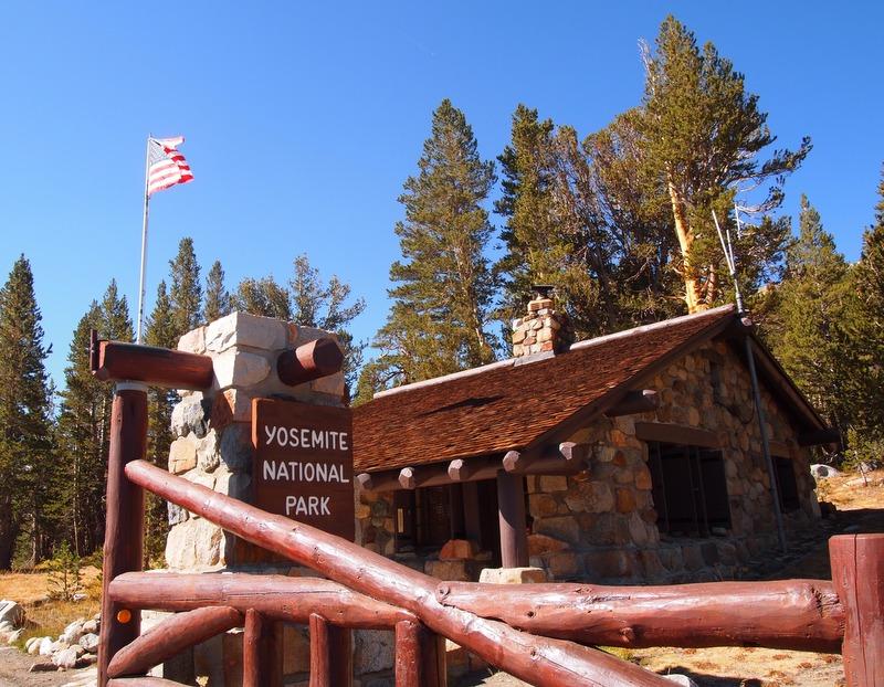 entrada al Parque Nacional de Yosemite