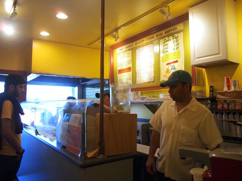 hamburguesería de Sausolito: interior