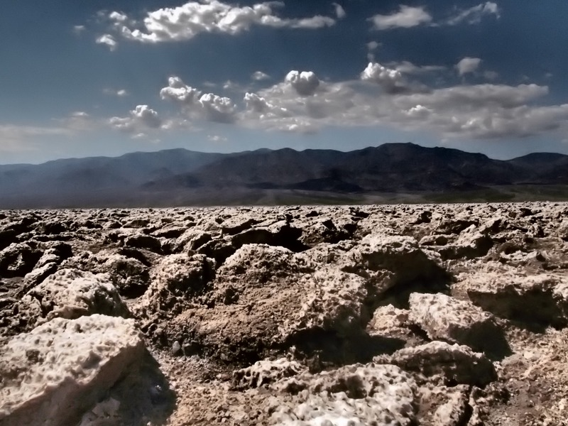 Devil's Golf Course en Death Valley