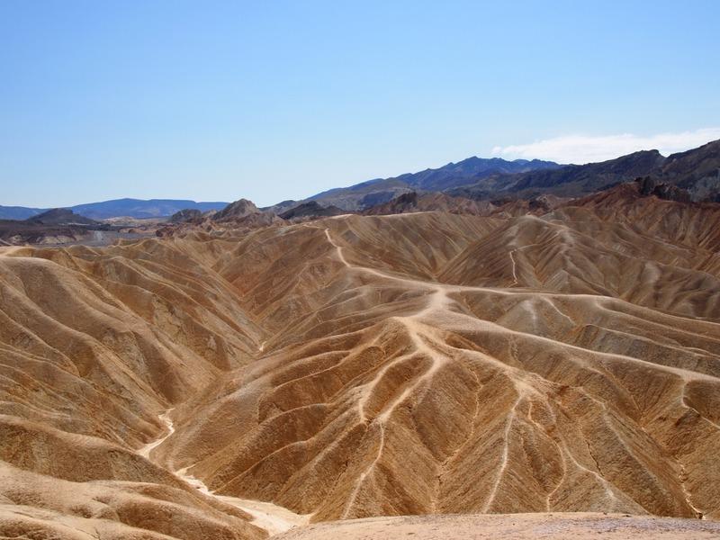Zabriskie Point en Death Valley