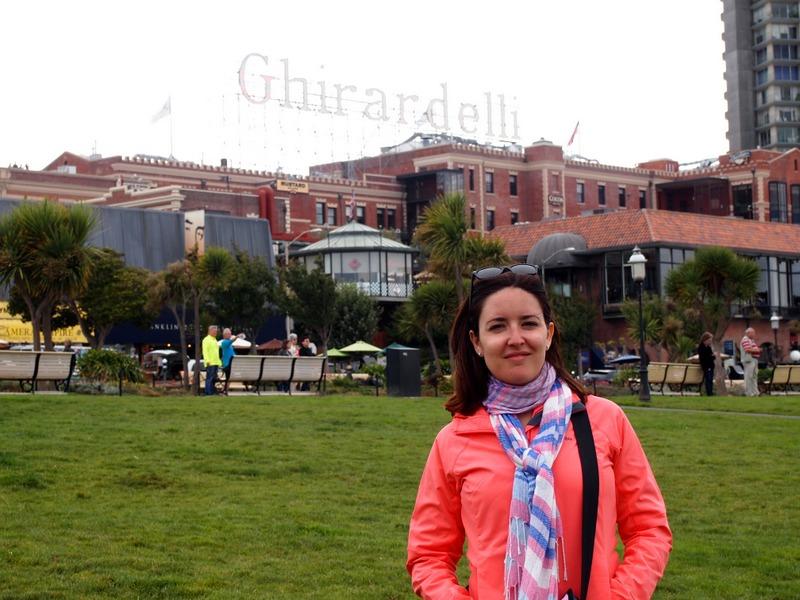 Lidia en Ghirardelli Square de San Francisco