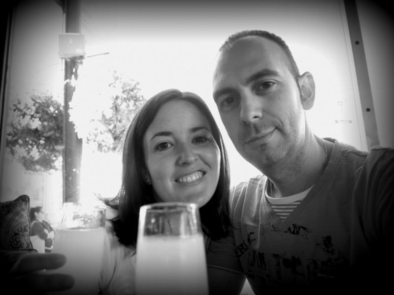 Sergio y Lidia en el bar Twin Peaks de Castro en San Francisco