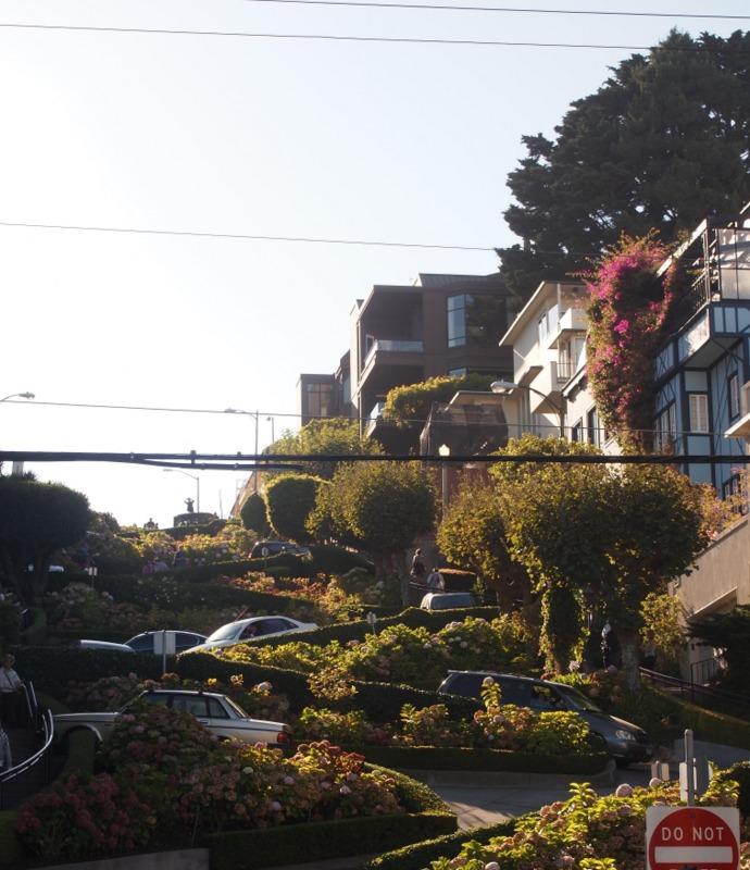 calle Lombard en San Francisco