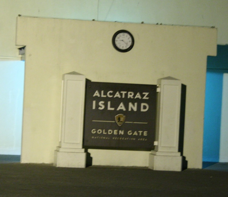cartel de la isla de Alcatraz