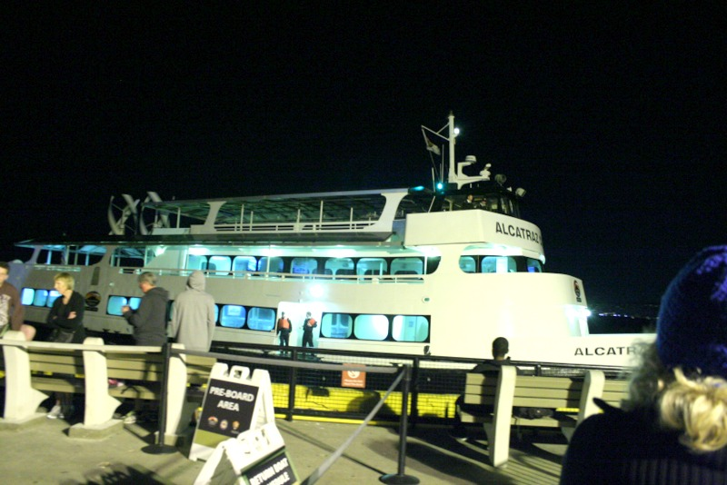 ferry de Alcatraz