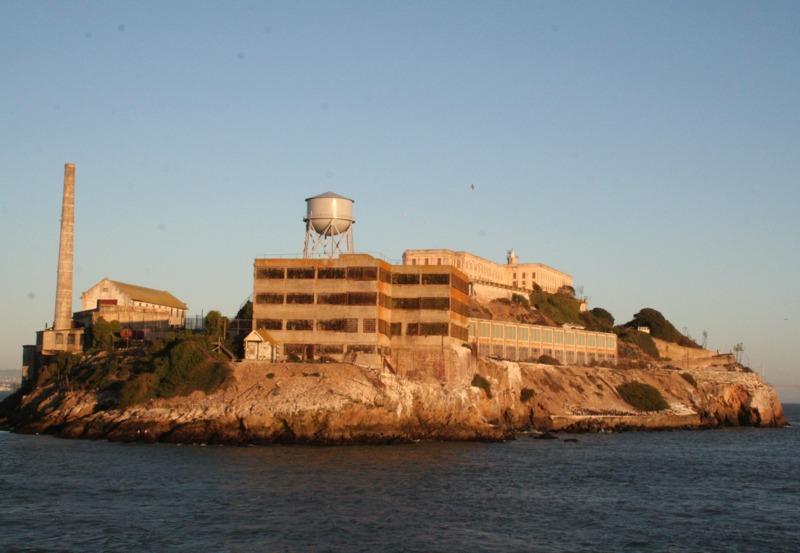 isla de Alcatraz desde el ferry 3