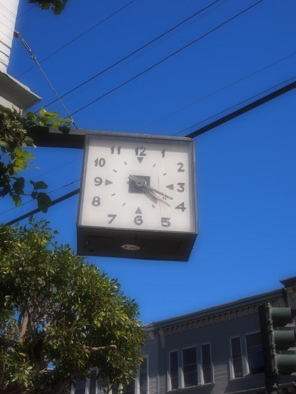 reloj de Haight Ashbury