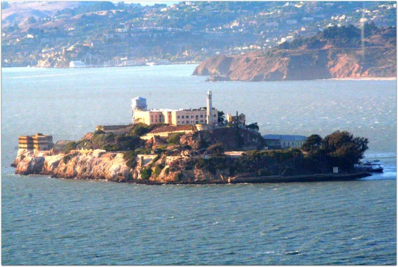 vista desde la Coit Tower - Alcatraz