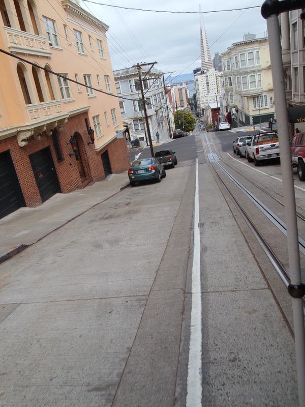 vistas de San Francisco desde el cable car 2