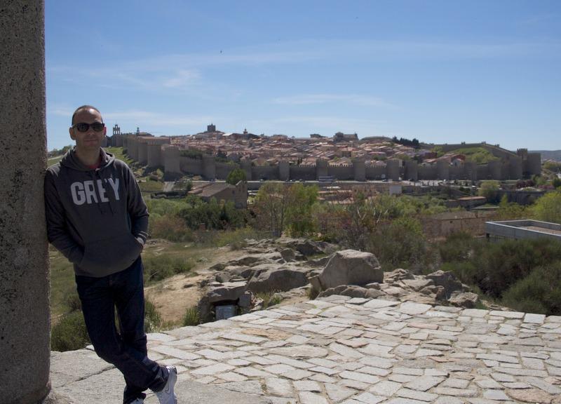 Sergio en Los Cuatro Postes de Ávila
