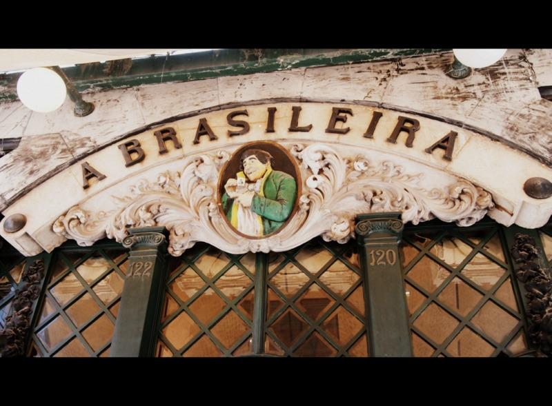 fachada del Café A Brasileira en Lisboa