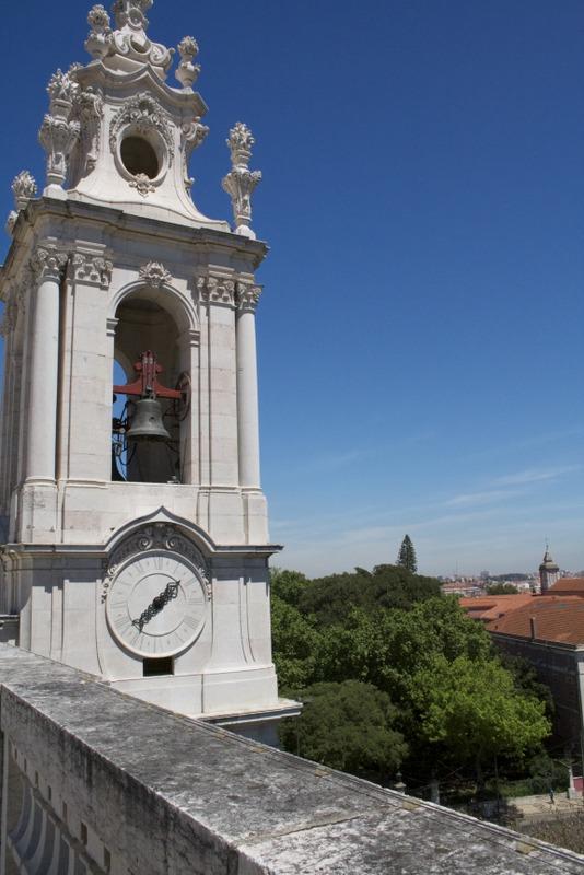 mirador de la Basílica A Estrela de Lisboa