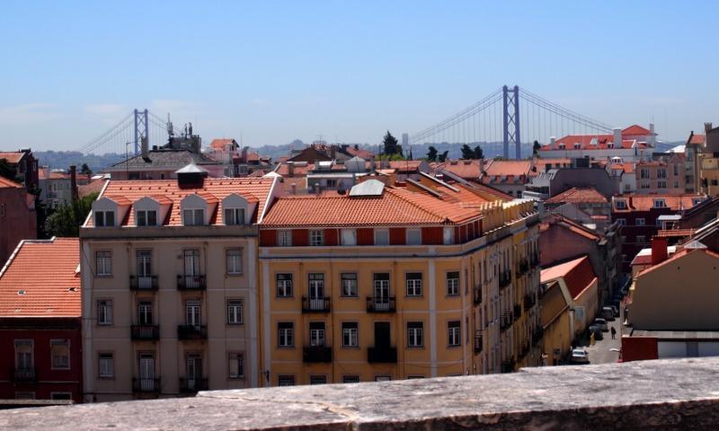vistas de Lisboa desde la Basílica da Estrela 1