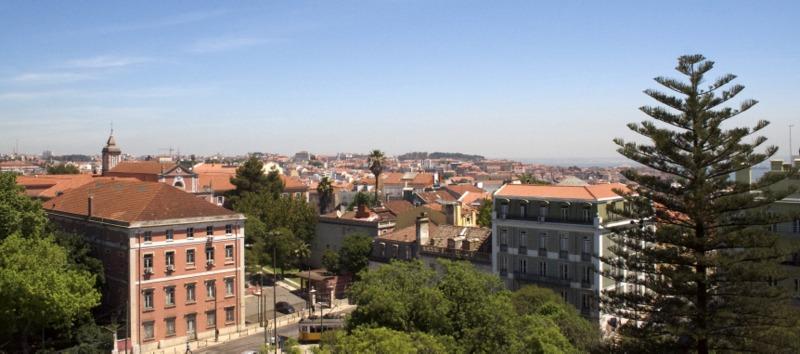 vistas desde la Basílica A Estrela en Lisboa 2