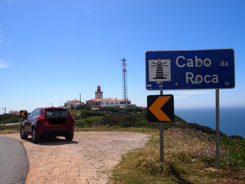 llegada al Cabo da Roca en Portugal