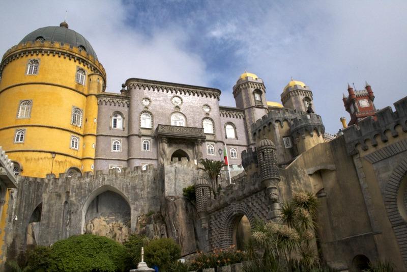 Palacio da Pena en Sintra 2