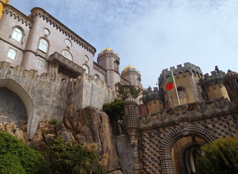 Palacio da Pena en Sintra 1