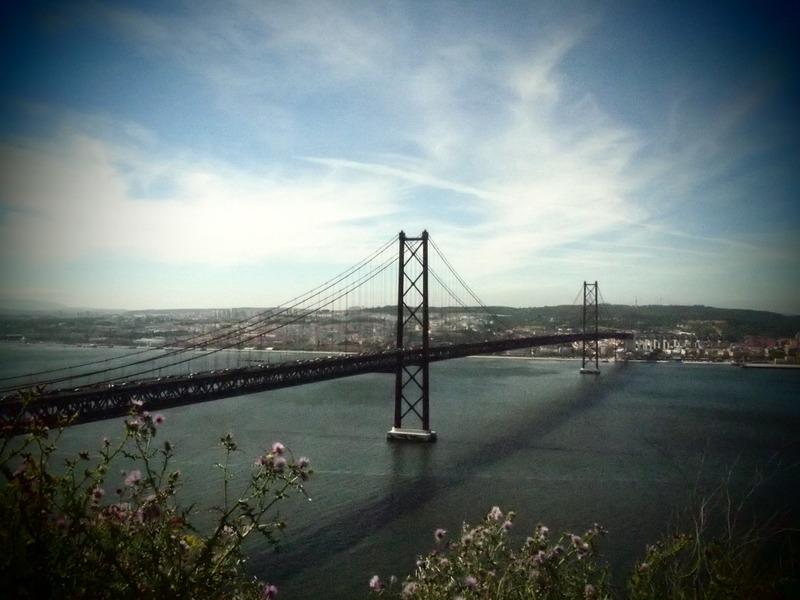 vistas del Puente 25 de Abril desde Cristo Rei