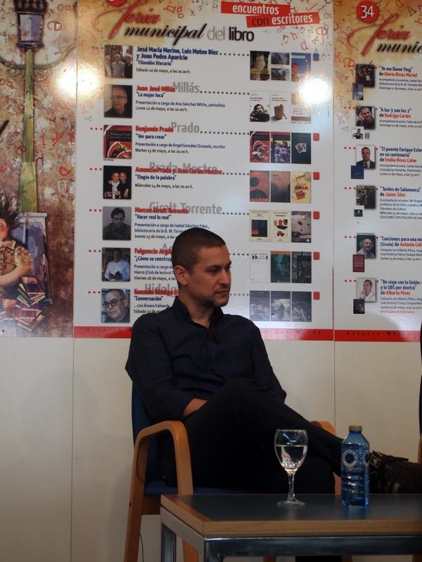 Rodrigo Cortés en la Feria del Libro de Salamanca