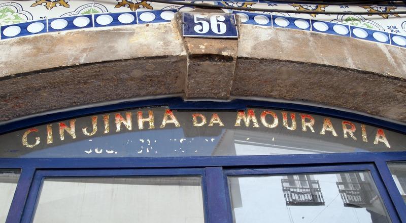 bar A tendinha en la Plaza del Rossio en Lisboa