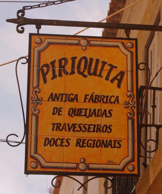 cafetería A Piriquita en Sintra
