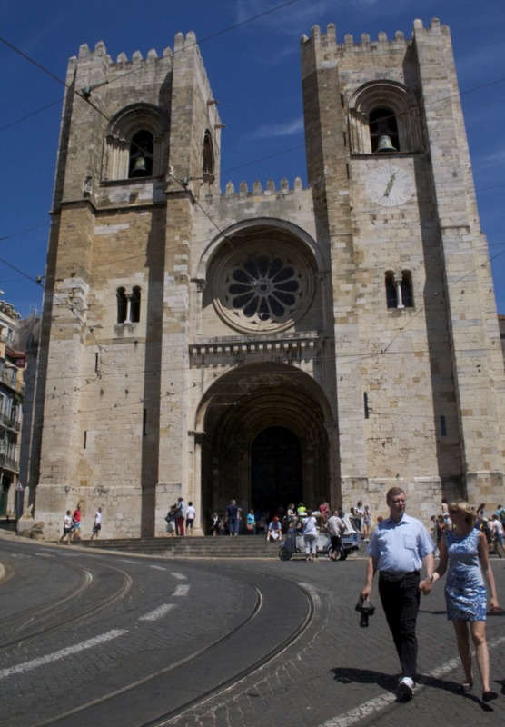 catedral de Sé en Lisboa