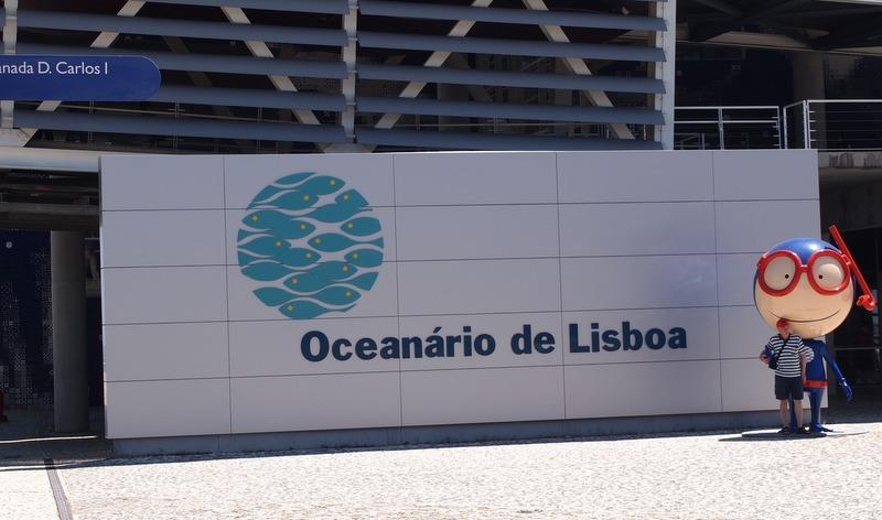 entrada al Oceanário de Lisboa