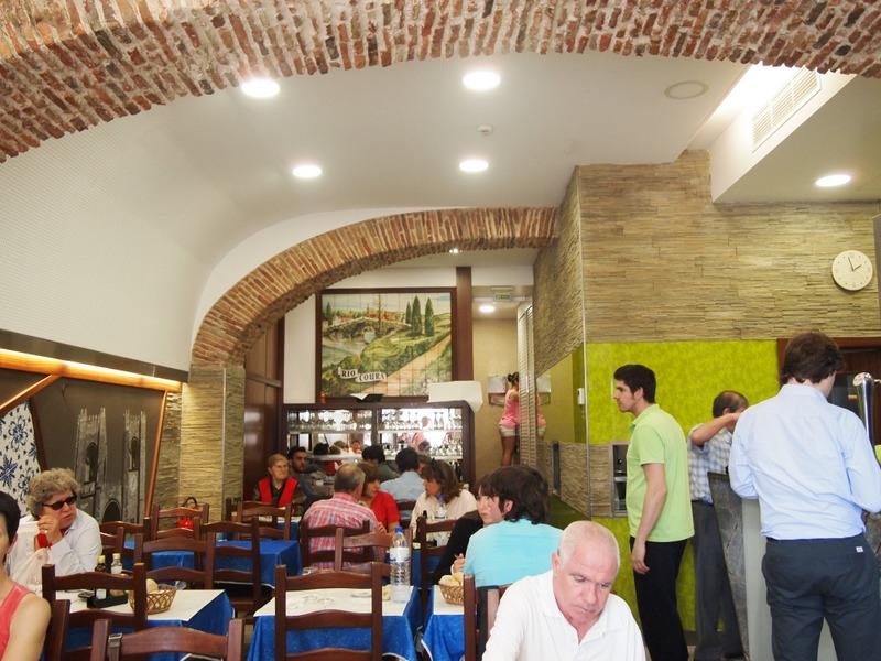 restaurante Río Coura en Lisboa - interior