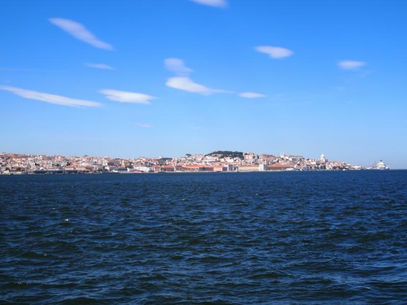 vistas de Lisboa desde Cristo Rei