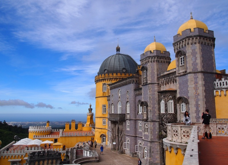 Palacio da Pena en Sintra 3
