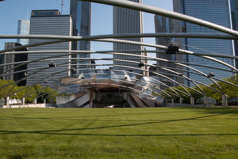 Jay Pritzker Pavilion del Millenium Park de Chicago 01