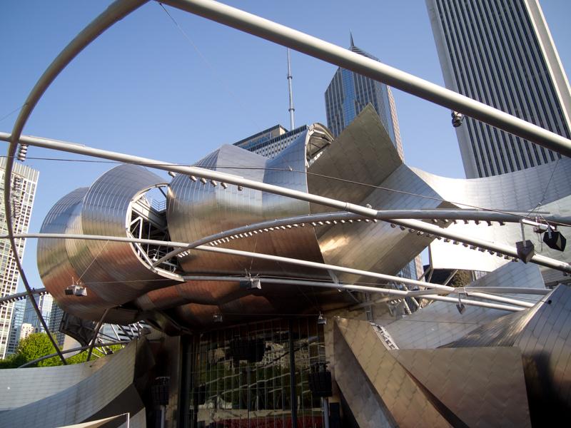 Jay Pritzker Pavilion del Millenium Park de Chicago 02