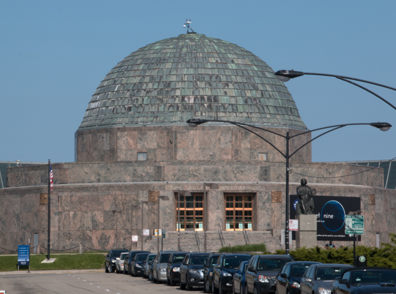 Planetario Adler de Chicago en el Museum Campus