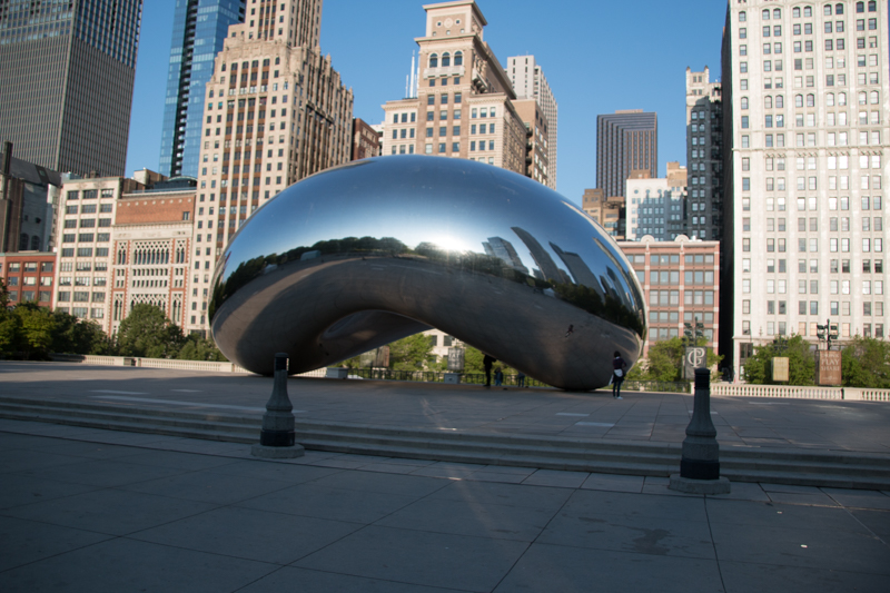 The Bean del Millenium Park de Chicago 01
