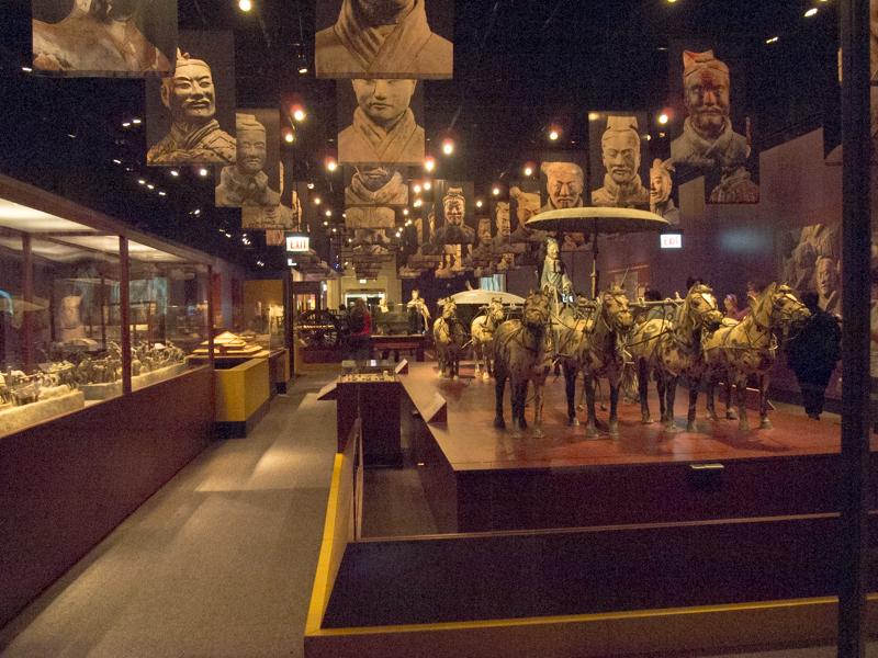 exposición de los Guerreros de Terracota del Field Museum de Chicago 1
