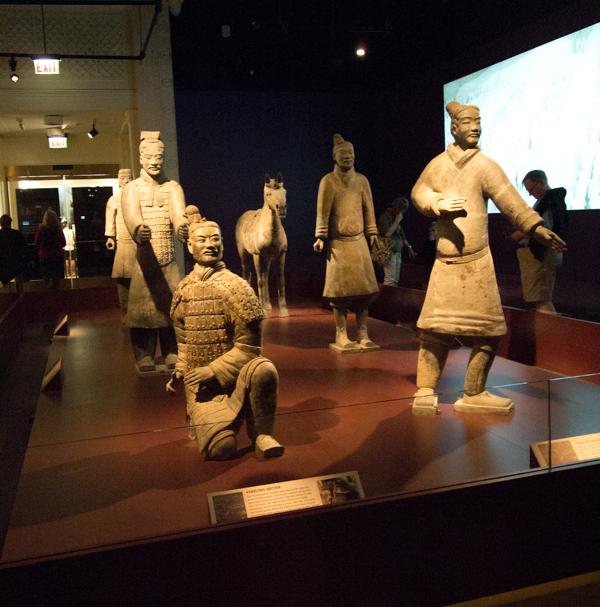 exposición de los Guerreros de Terracota del Field Museum de Chicago 2