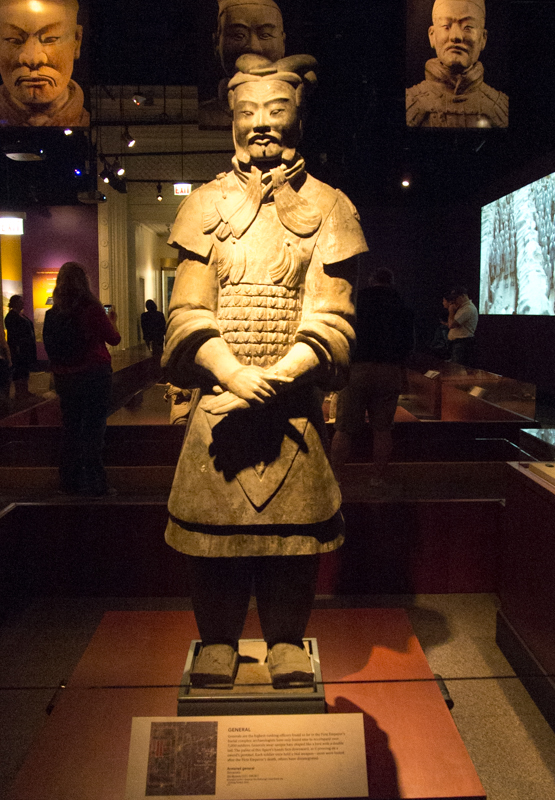 exposición de los Guerreros de Terracota del Field Museum de Chicago 3