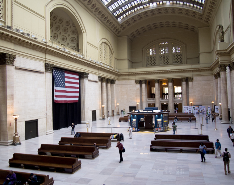 Great Hall de la Union Station de Chicago