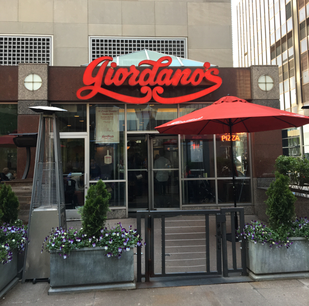 restaurante Giordano's en Chicago