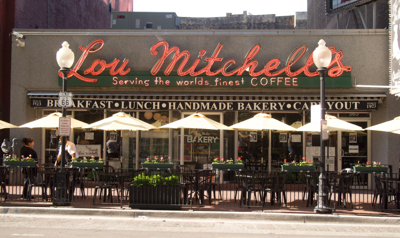 restaurante Lou Mitchell's en Chicago