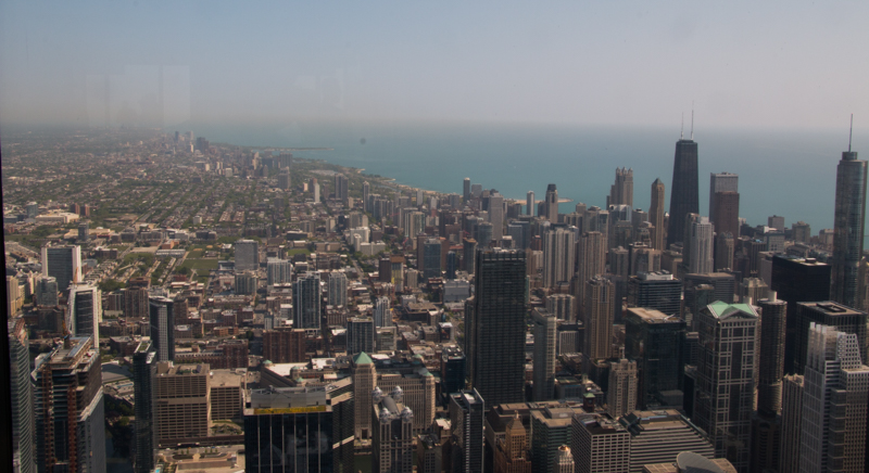 vistas de Chicago desde la Torre Willis 01