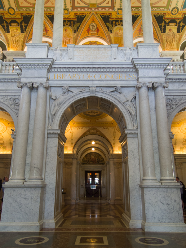 Biblioteca del Congreso en Washington DC 1