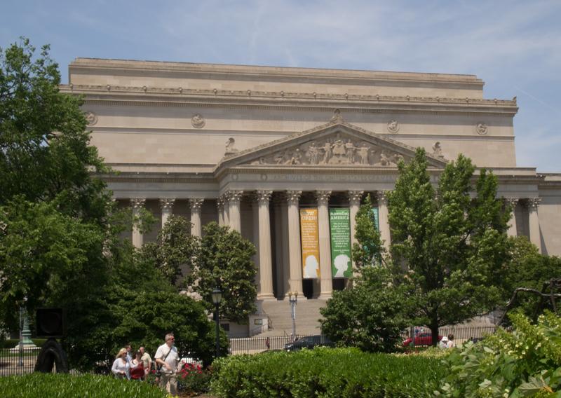 Los Archivos Nacionales en Washington DC