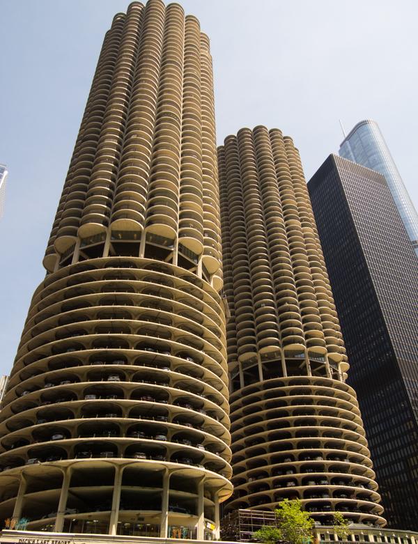 las Marina Towers de Chicago