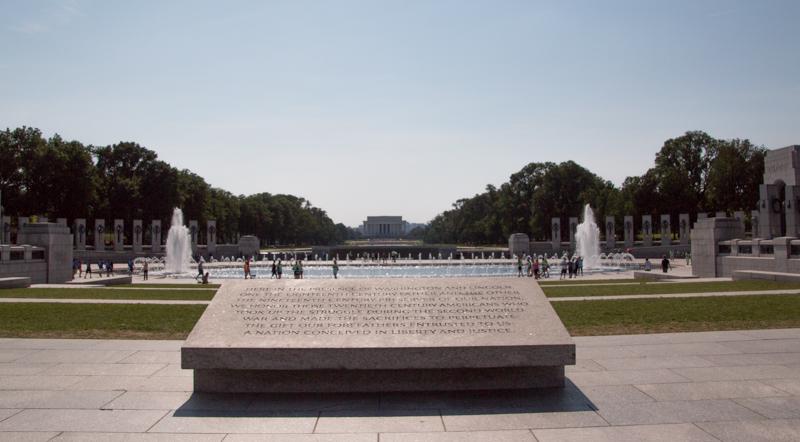 Memorial de la II Guerra Mundial en Washington DC