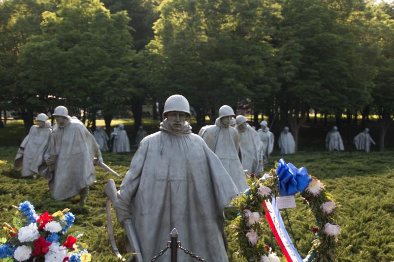 Memorial de los Veteranos de la Guerra de Corea en Washington DC