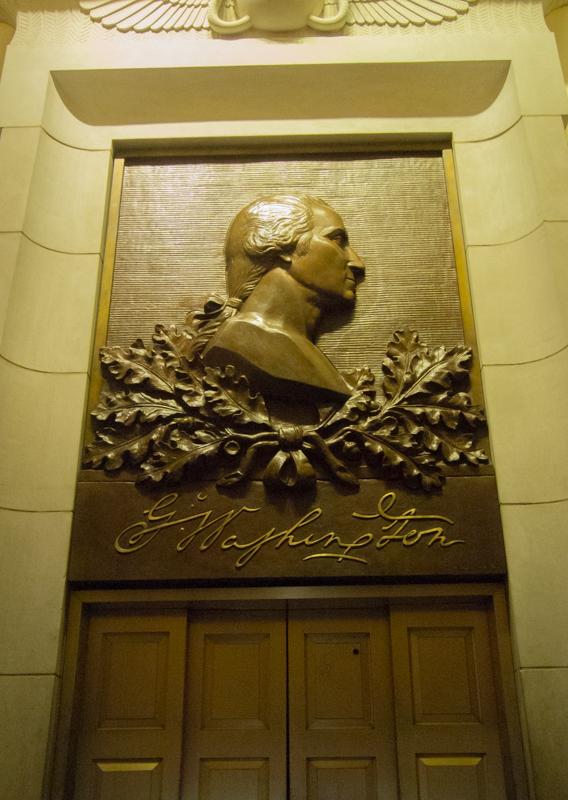 ascensor del Monumento a Washington