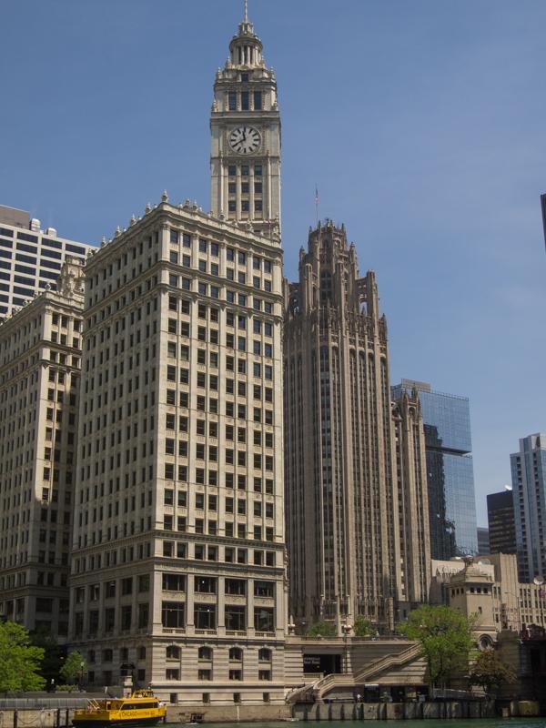 edificio Wrigley en Chicago